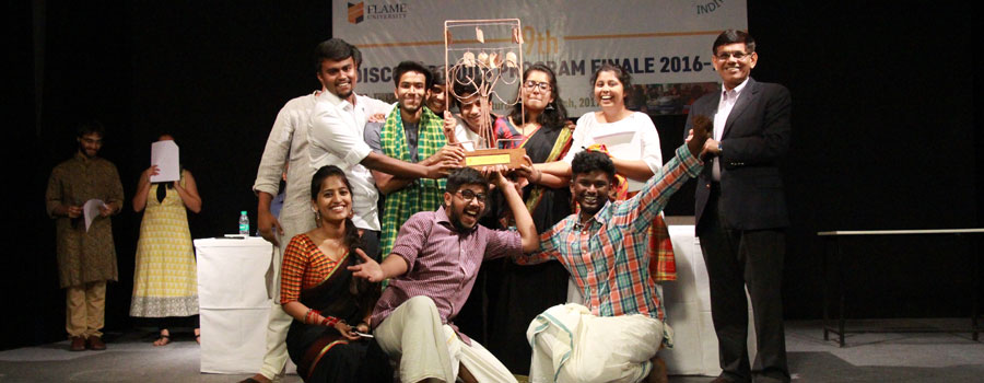 Discover India Program 2016-17 concludes with a grand finale