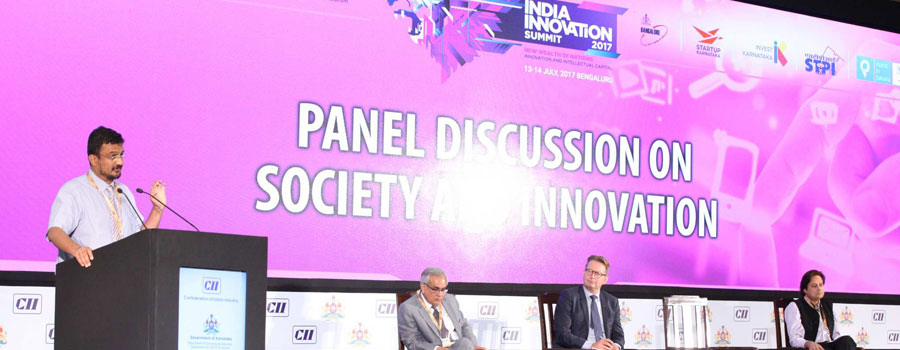 Dr. Pavan Mamidi, co-Director of CESS Nuffield FLAME University invited to speak at CII Summit