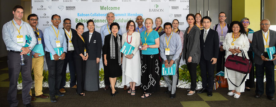 FLAME University faculty attends the Babson Collaborative Summit