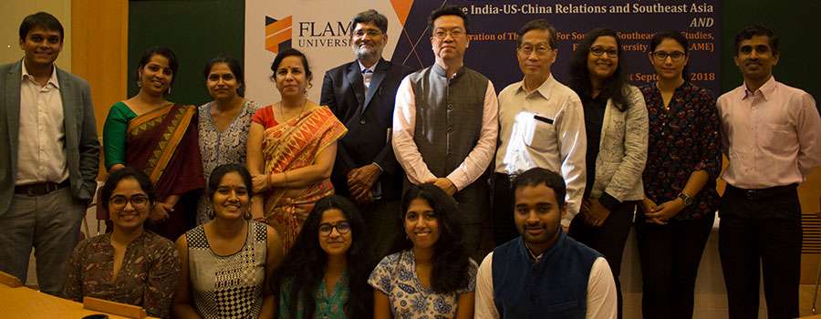 FLAME launches the Centre for South and Southeast Asia Studies