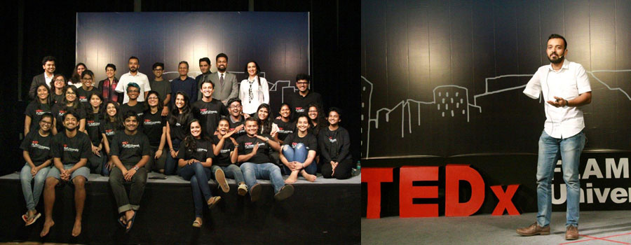 TEDx 2017 held at FLAME University