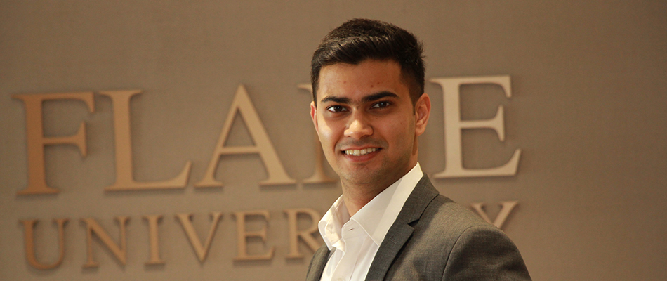 Shravan Pandit preps to build his own future after his MBA at FLAME University